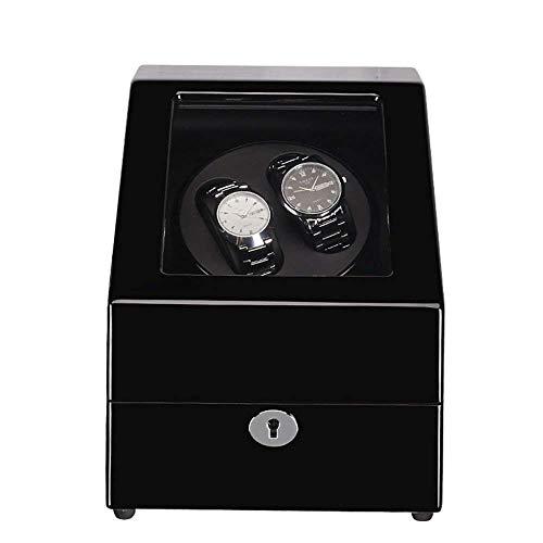 CLJ-LJ Caja de Reloj, exhibición del Reloj Caja Swaying Mesa de agitación de la Placa giratoria del Motor Premium silencioso Motor Movimiento for Relojes automático Compatible, una (Color : A)