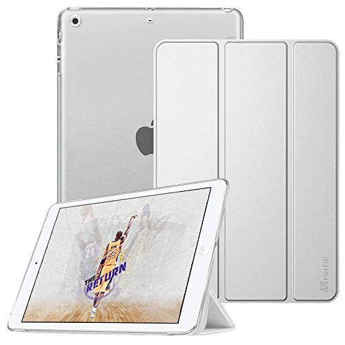 Fintie Hülle für iPad Mini 1 / iPad Mini 2 / iPad Mini 3 - Ultradünne Superleicht Schutzhülle mit transparenter Rückseite Abdeckung Cover mit Auto Schlaf/Wach Funktion, Silber