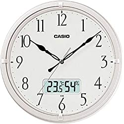 Casio Ic-02-7 Wall Clock with Day and Date Analog Digital Display
