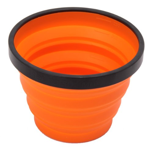 Sea to Summit Unisex X Collapsible Drinking Cup, Orange