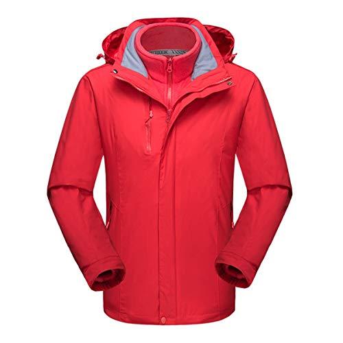 SKSIT Skianzug, Outdoor-bergsportbekleidung Herbst- Und Winterskibekleidung Radsportbekleidung 3-in-1 Jacke Winterjacke H-M