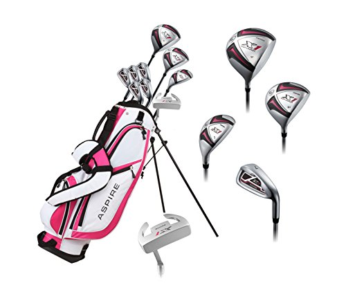 Pink Right Handed Golf Club Set for Petite Ladies