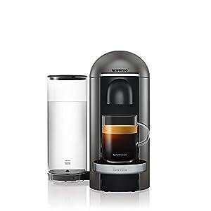 Nespresso, Pod Coffee Machine, Krups, Vertuo Plus, Titanium