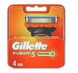 Gillette Fusion5 Hommes 4 Lames de Rasoir Pouvoir