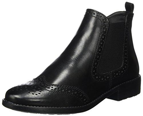 Tamaris Tamaris Damen 25493 Chelsea Boots, Schwarz (Black Leather), 38 EU