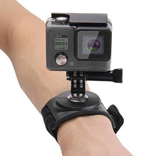Shoot® 3 in 1 Hand Handgelenk Arm Bein 360 Rotation Halterung für Gopro Hero 6, 5, 4, 1, 2, 3, 3+ Session 5, 4 und andere kleine Kameras und Sport-Camcorder (mit 1/4