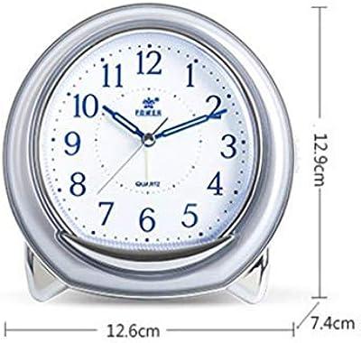 ZHAS Reloj DE Pared Lámpara de Mesa Sala de Estar Dormitorio ...