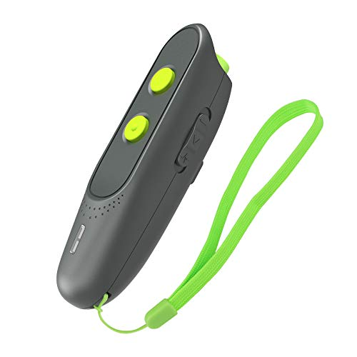 Monja Anti-Bell-Gerät für Hunde,100% Sicher Ultraschall Bellkontrolle Anti-Bell-Mittel Wiederaufladbar, 5M Kontrollbereich Handheld Hunde Trainingsgerät (Schwarz + Grün)