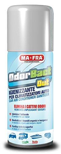 Igienizzante per condizionatori auto 150 ml MA-FRA ODORBACT OUT