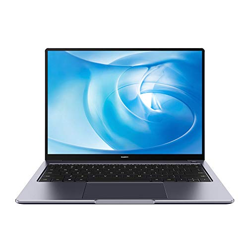 HUAWEI MateBook 14 2020 - 14 Inch Laptop with 2K FullView Display, AMD Ryzen 5 4600H Ultrabook, 16 GB RAM, 512 GB PCIe SSD, Windows 10 Home, Huawei Share, Fingerprint Unlock, Space Grey