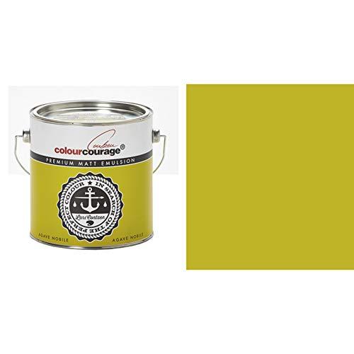 "Colourcourage Premium Wandfarbe ""Agave Nobile"" Gelb Grün"