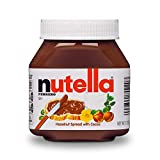Twelve 7.7 oz jars of delicious Nutella hazelnut spread, the perfect topping for Halloween themed baking, pancakes, waffles, toast, and more! The Original Hazelnut Spread…unique in all the world. Made from quality ingredients like roasted hazelnuts a...