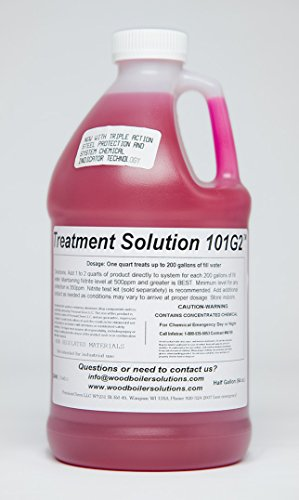 Outdoor Boiler Stove Anti-Corrosion Chemical Treatment 101 [1/2 Gallon]