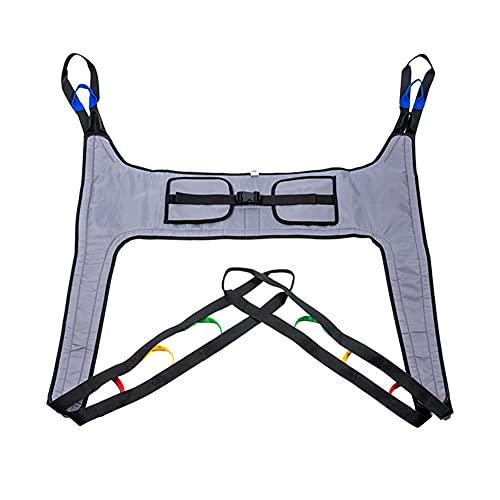 Cinturón de Transferencia Arnés De Elevación De Paciente De Cuerpo Completo, Paciente Cinturón De Transferencia con Ajustable Altura para Posicionamiento Y Elevación De La Cama, Enfermería