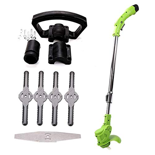 Buy Discount JNWEIYU Trimmer/Edger/Mini Mower Electric Lawn Mower Agricultural Household Cordless We...