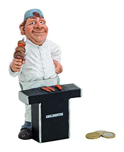 Topshop24you wunderschöne hochwertige Sparbüchse,Sparschwein Grillkasse,Spardose Grill,Grillmeister aus Polyresin