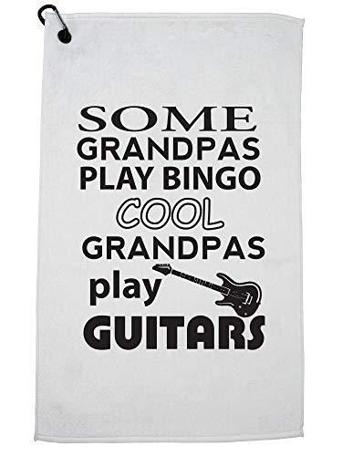 Hollywood Thread Sommige Granpas Spelen Bingo Cool Ones Spelen Gitaren Golf Handdoek met Karabijnhaak Clip