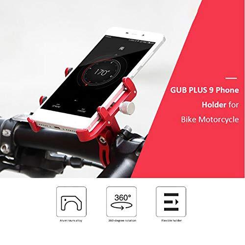 Universele mobiele telefoon houder voor motorfiets fiets fiets fiets telefoon houder telefoon fiets Mount Zwart