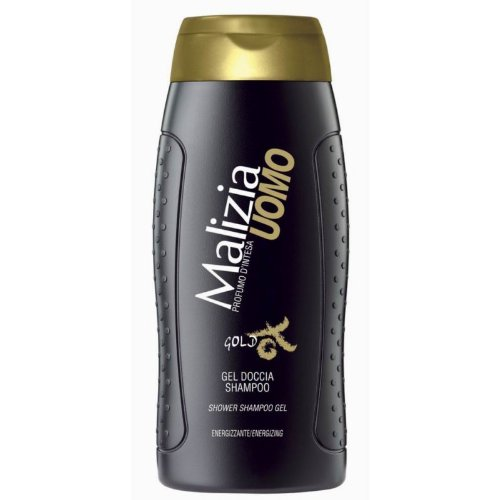 MALIZIA UOMO GOLD - Duschgel & Shampoo 2in1 250ml