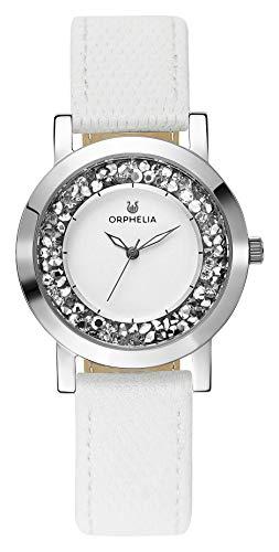 Orphelia Damen-Armbanduhr Hermosa Analog Quarz Leder