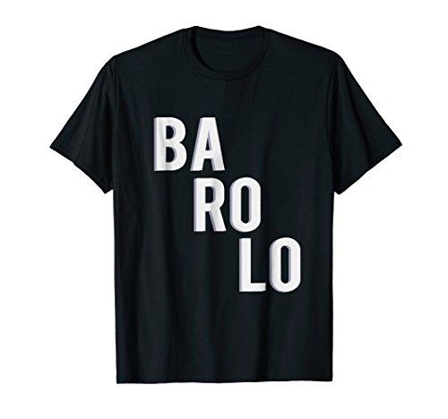 Barolo Wine Shirt   Stylish Summer Tee   Fine Italian Wine