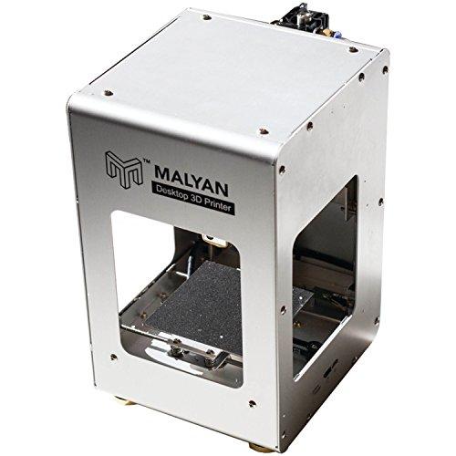 Malyan M100 Mini Desktop 3D Printer, by FoxSmart, The Best Small Format 3D Printer, with All Metal housing