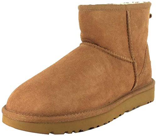 UGG Female Classic Mini II Classic Boot, Chestnut, 6 (UK)