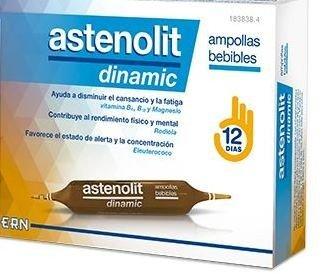 ASTENOLIT DINAMIC AMPOLLAS BEBIBLES 12 AMP