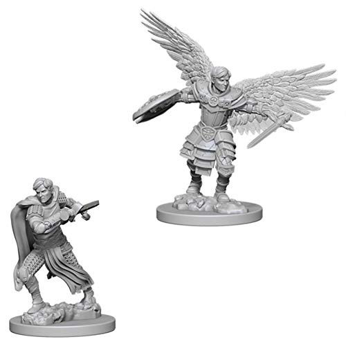 Dungeons & Dragons Nolzur's Marvelous Unpainted Minis: Aasimar Male Fighter