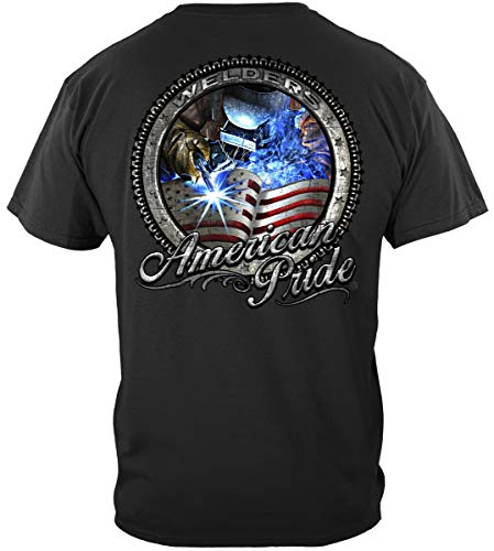 Erazor Bits American Pride Welder T Shirt RN2384XL