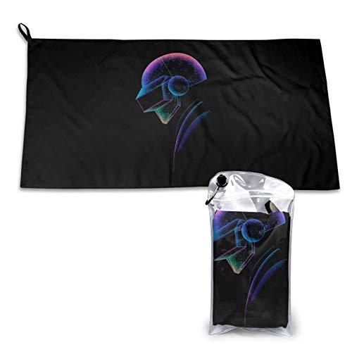 N/A Daft Punk Quick Drying Towel - Toalla de secado rápido (40 x 80 cm)