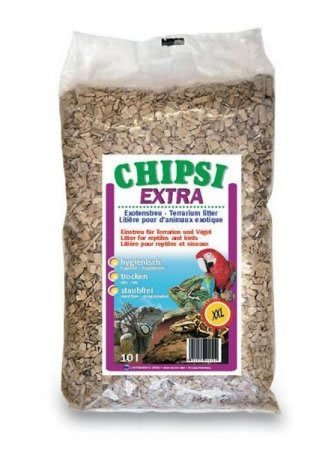 Chipsi Extra Einstreu, Buchenholzspäne, XXL (8mm), 70l, 15kg (CHIPXXL15/JRS305)