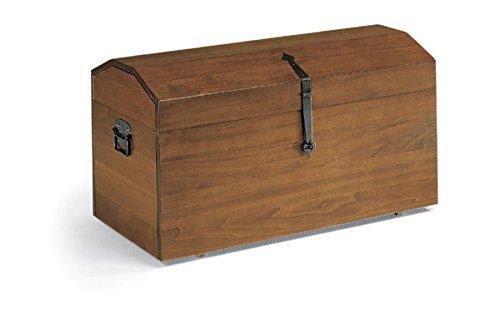 Legno&Design Coffre à bûches avec roulettes, chariot porte-bois, porte-pellets, facile à déplacer.