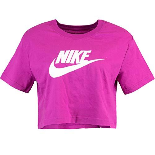 Nike Futura Icon Crop Top para mujer morado L