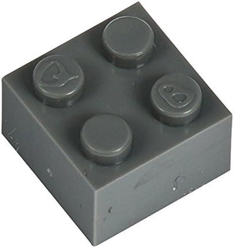 Q-Bricks 2 2-Stud Bausteine lose Pack (1000, Dusty Grau)