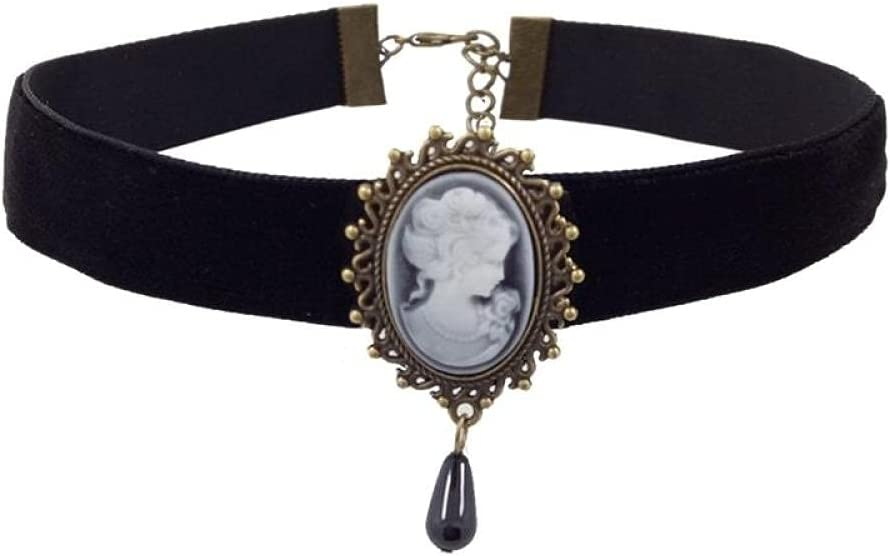 Choker Gothic Vintage Collar Gothic Necklace & Pendant Women Accessories Collar Explanation Necklaces Lady Party Jewelry