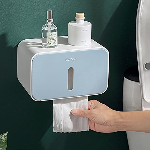 OBOYGANGNQE 1 Uds Caja de pañuelos Soporte de Rollo de Papel montado en la Pared dispensador de Papel de Cocina para Hotel dispensador de Papel higiénico baño nuevo-03, Francia
