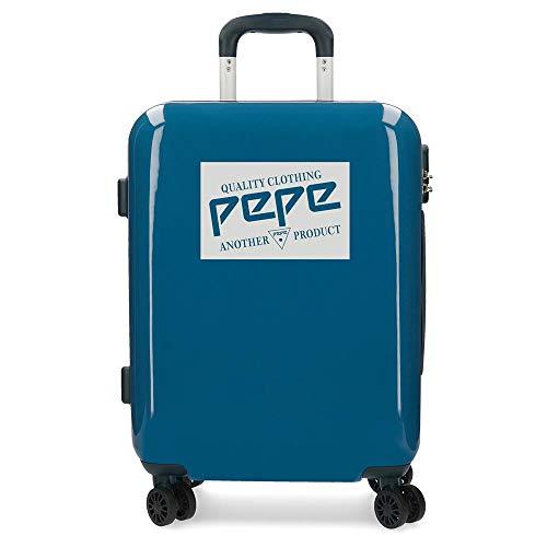 Maleta de cabina rígida 55cm Pepe Jeans Luggage Quality Azul