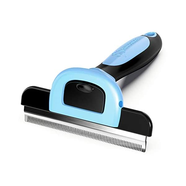 MIU COLOR Pet Grooming Brush, Deshedding Tool for Dogs & Cats-Effectively Reduces...