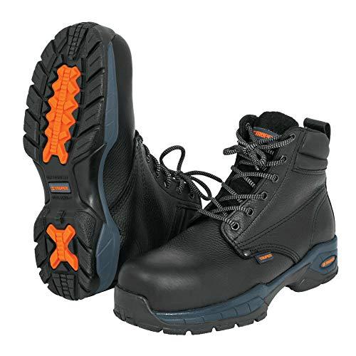 Truper ZC-328N, Zapatos industriales dieléctricos, Negros, Talla 28
