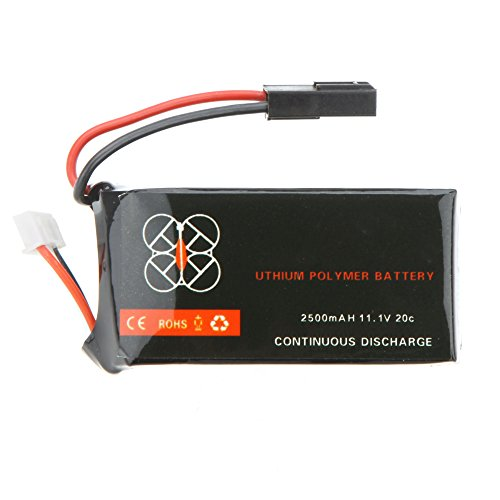 Mobiliarbus Alta qualità aggiornamento Lipo Batteria 11.1 v 2500mah 20C per Parrot AR. Quadcopter Drone 2.0