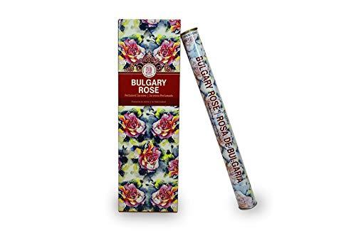 LAMARE Incienso Perfumado Esencia Herbal (Rosa de Bulgaria)