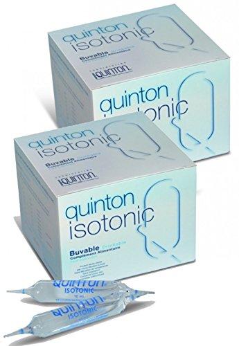 Quinton - Isotonic buvable - Lot de 2 x 30 ampoules …