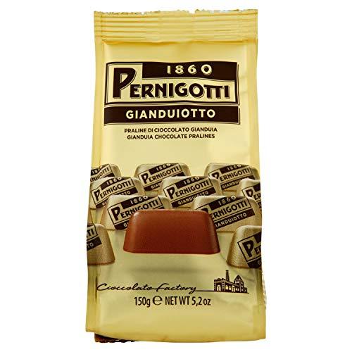 Pernigotti, Praline Gianduiotto Classico, al Cioccolato Gianduia Classico, Senza Olio di Palma, Senza Glutine, Confezione da 150 gr