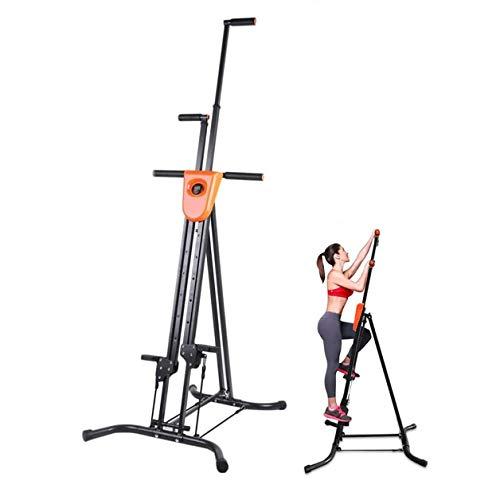 GZD Vertikal Bergsteiger, faltbar Vertikal Climber Climbing-Maschine, Stepper für High-Intensity Intervall-Training, Sportstudio im Haus Körpertraining Fitnessgeräte