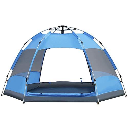 FGDSA Tenda da Campeggio Esterna Impermeabile Due Colori Opzionale per La Pesca Zaino in Spalla (Colore: Blu, Taglia: Taglia Unica)