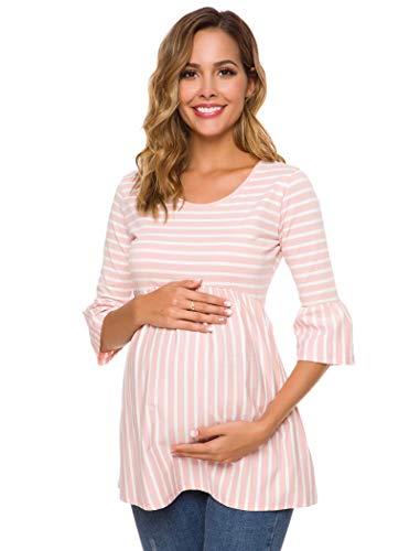 Ecavus Womens Casual Maternity T...