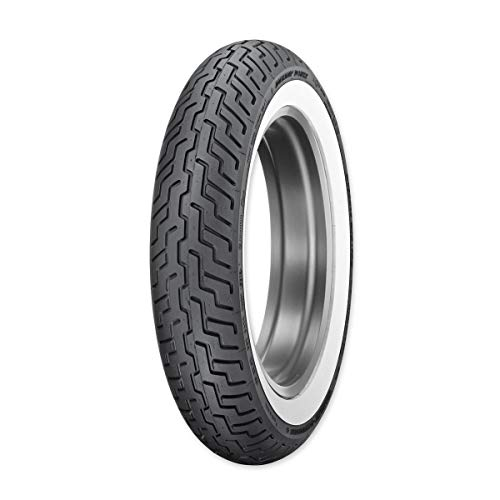 Dunlop D402 Harley-Davidson Whitewall Rear Tire - MU85B-16/Wide White Wall