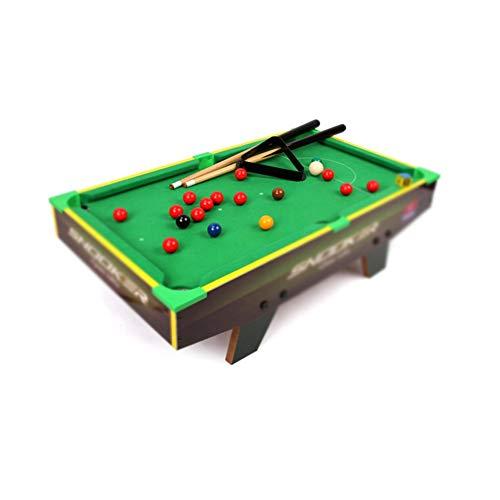 LBWT Snooker-Tisch, Home Mini Billardtisch Kleinkinderbillard Spielzeug Lernspielzeug Geschenke