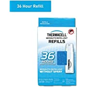Thermacell Mosquito Repellent Refills, 48-Hour Pack; Contains 12 Repellent Mats, 4 Fuel Cartridges; Compatible with Any Fuel-Powered Thermacell Product; No Spray, Scent, Mess; 15 Ft Zone of Protection